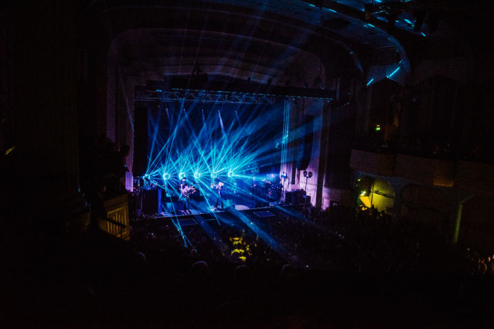 Franz Ferdinand Minuit Une IVL Lighting Glasgow