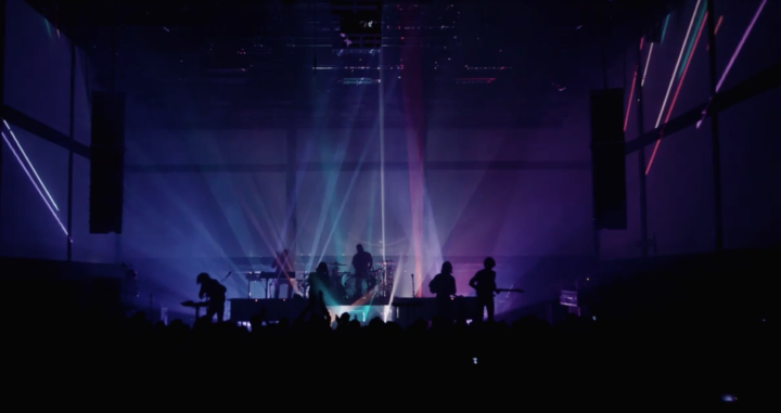 IVL Lighting with Phoenix on stage at Gaité Lyrique