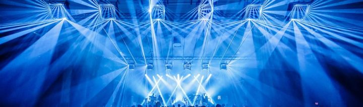 IVL Lighting by Minuit Une at Nuits Sonores in Lyon