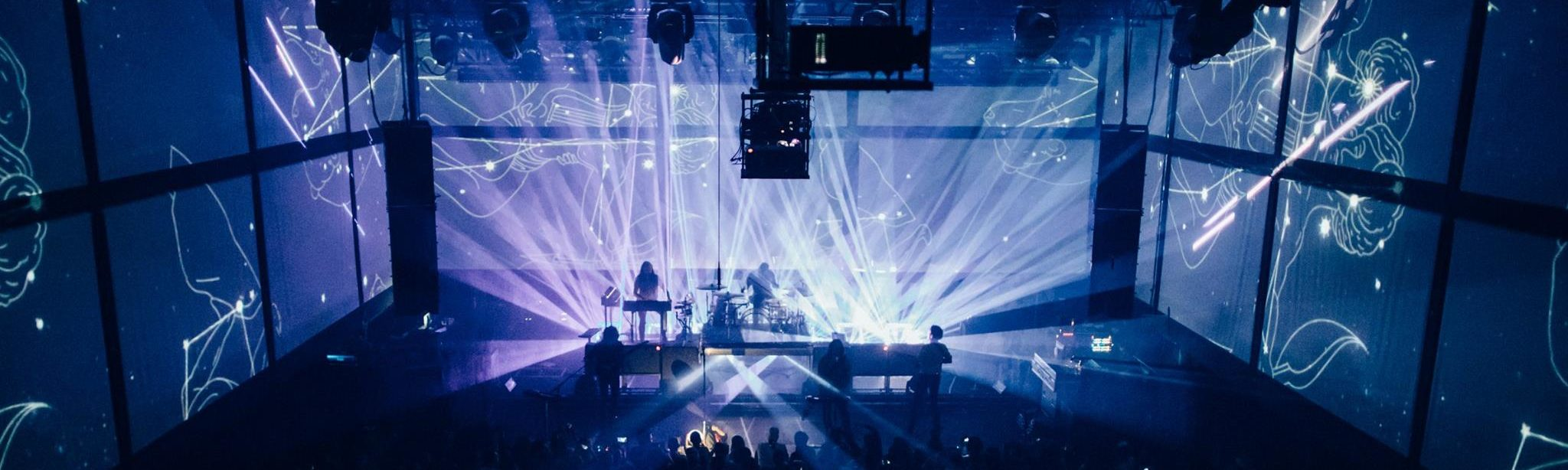 IVL Lighting by Minuit Une on tour with Phoenix