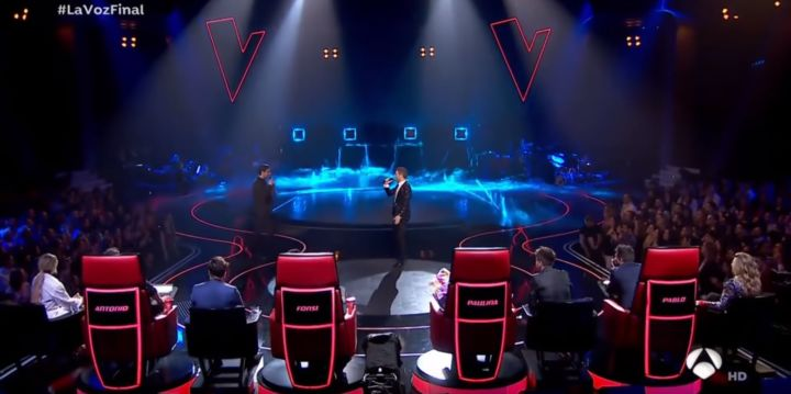 IVL Lighting by Minuit Une at the Voice Spain La Voz